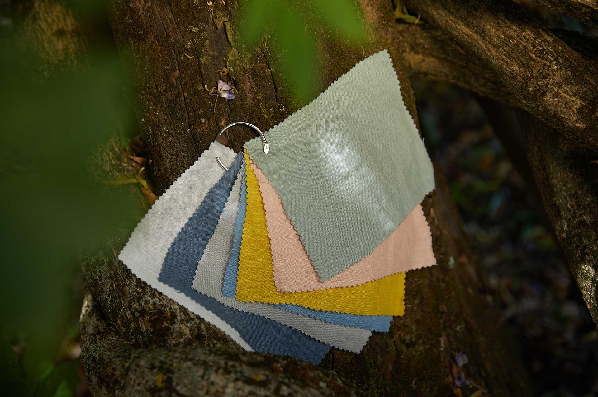 Laurence Carroy linge de maison lin fait en france guide couleurs
