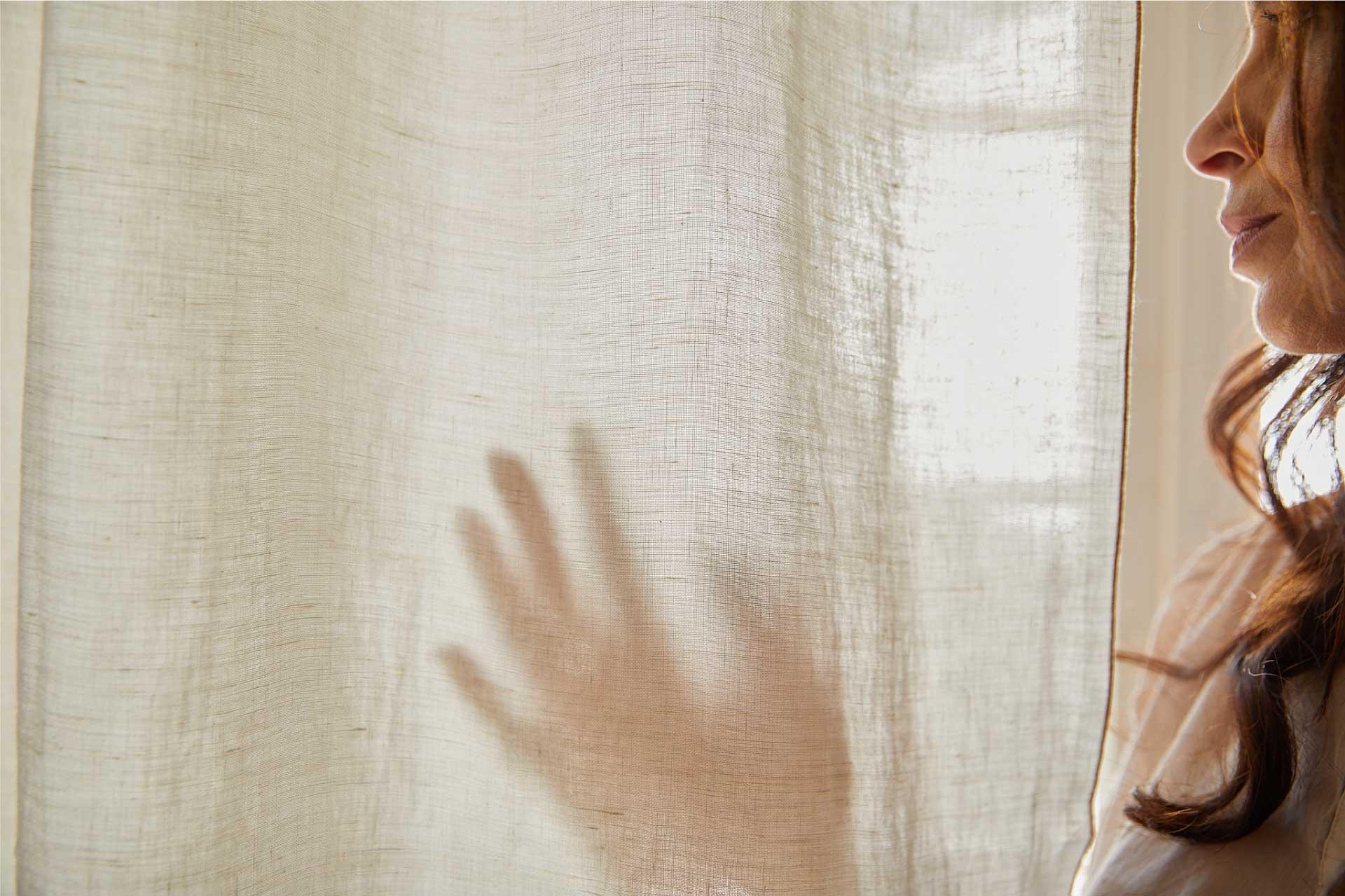 Laurence Carroy linge de maison rideau en lin