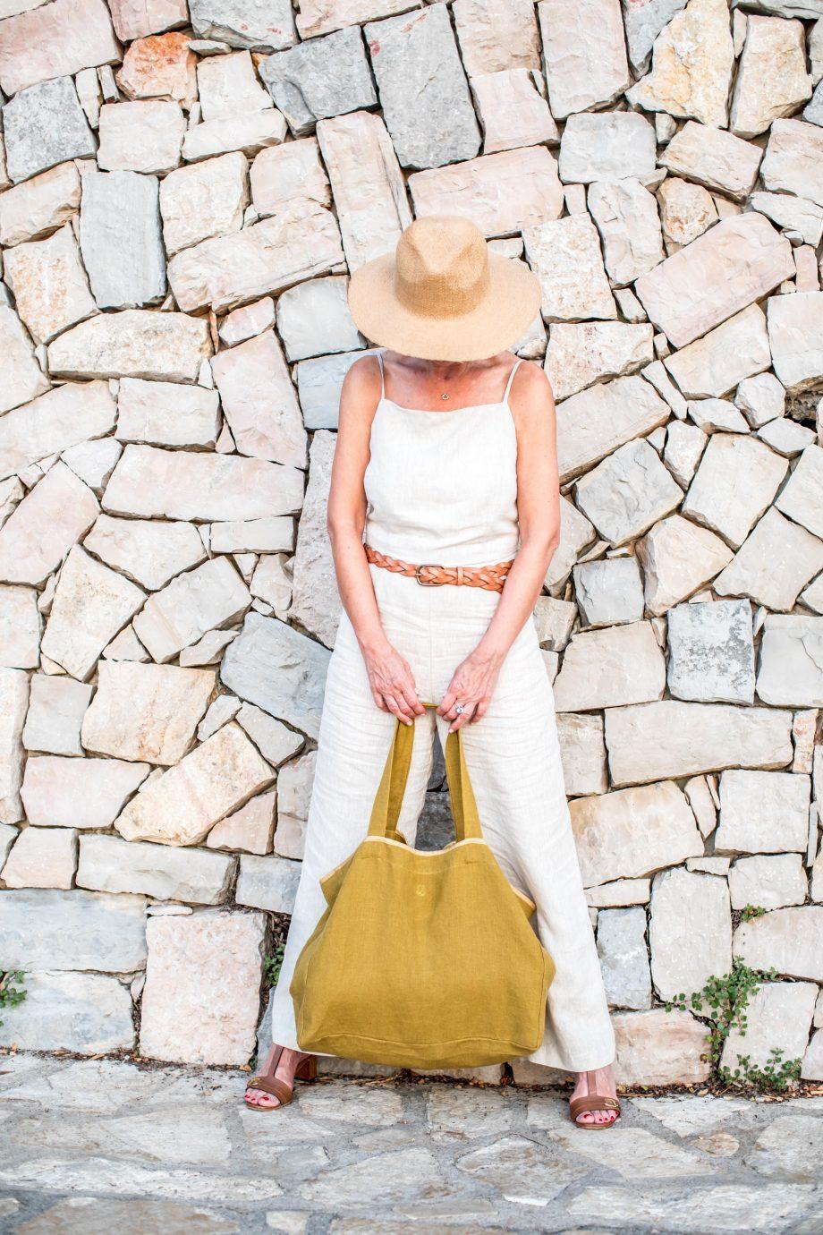 Laurence Carroy Collection édition limitée 2021 — sac cabas — jaune épices 2